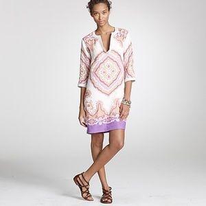 J.Crew Bazaar Tunic Dress Linen 6